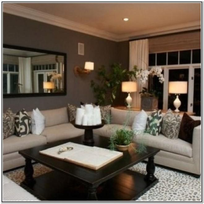 Living Room Paint Colors With Dark Brown Carpet