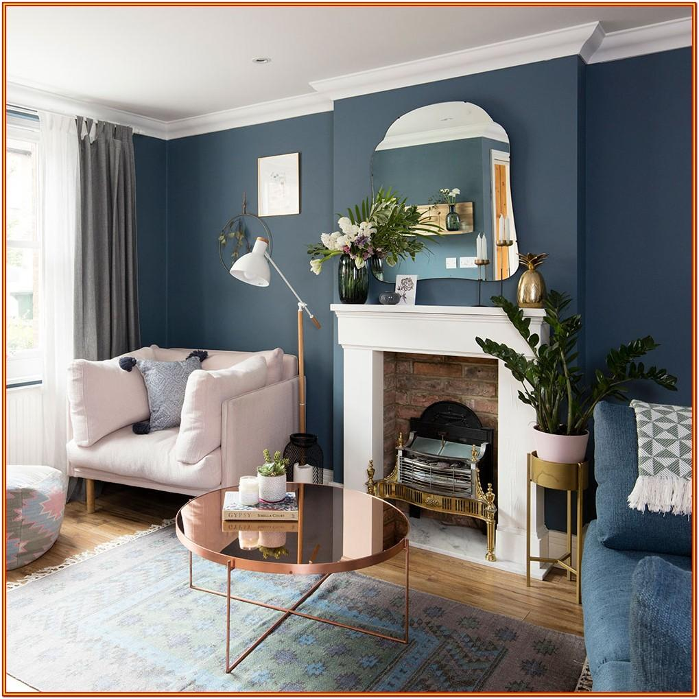 Living Room Painting Ideas Blue