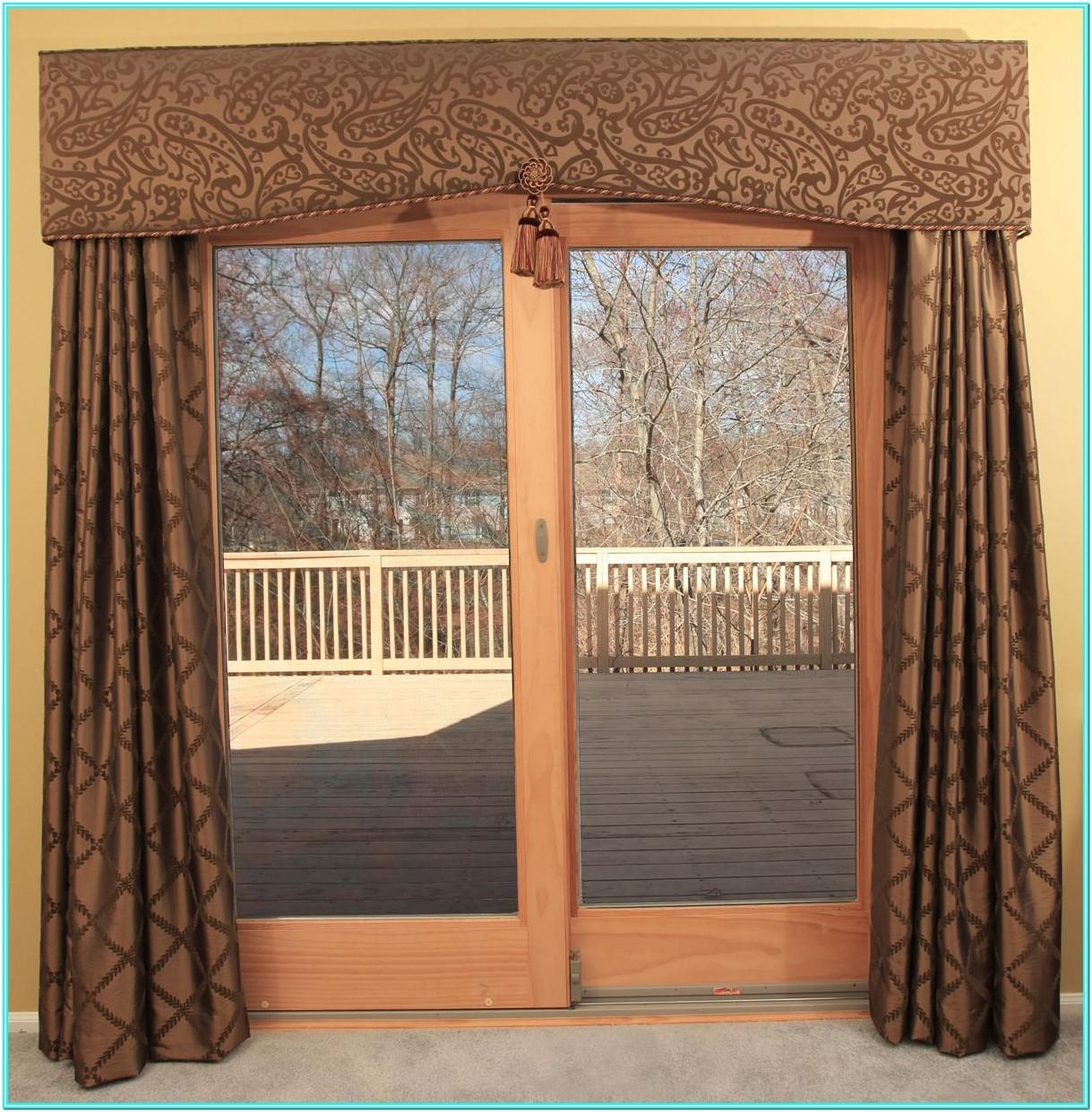 Living Room Patio Door Curtains