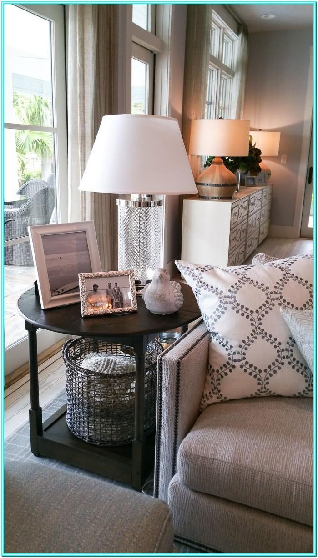 Living Room Side Table Decor