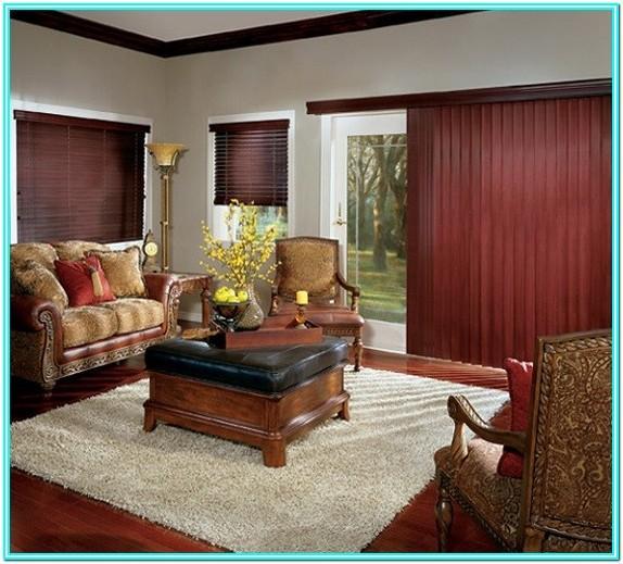 Living Room Slider Door Curtains