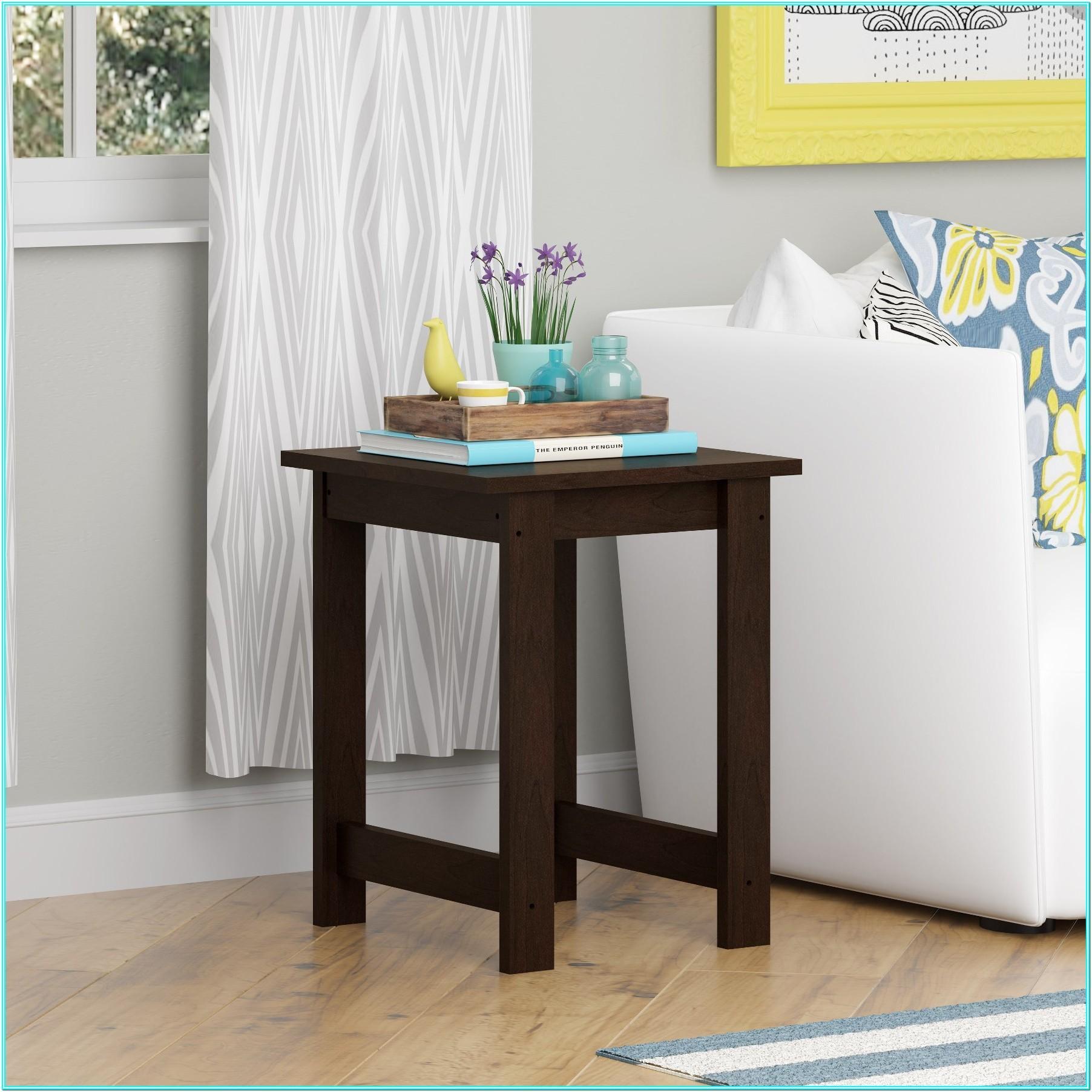Living Room Unique End Table Ideas