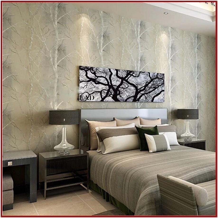 Living Room Wallpaper Home Decor