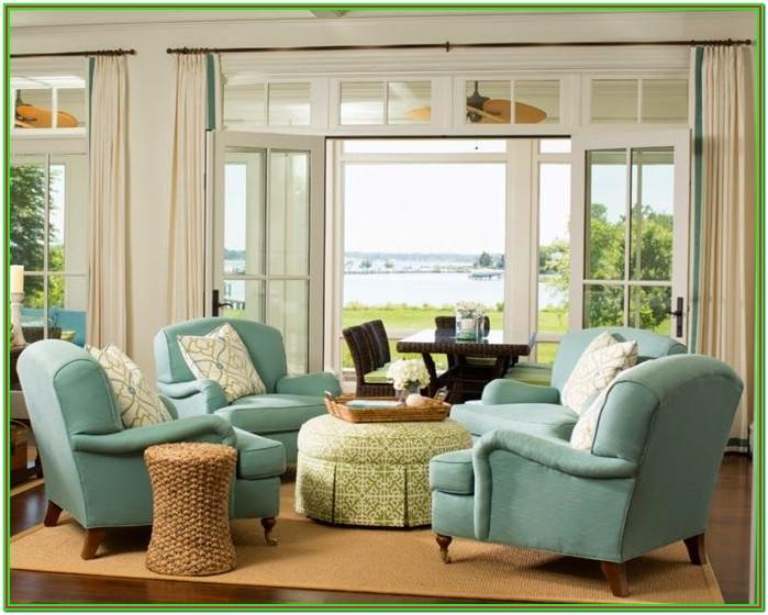 Living Room With Four Chairs Interior Design