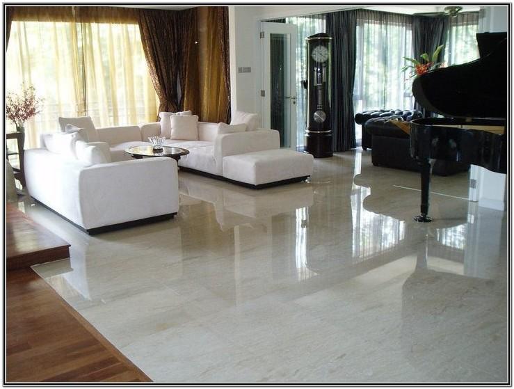 Marble Floor Tiles Design For Small Living Room