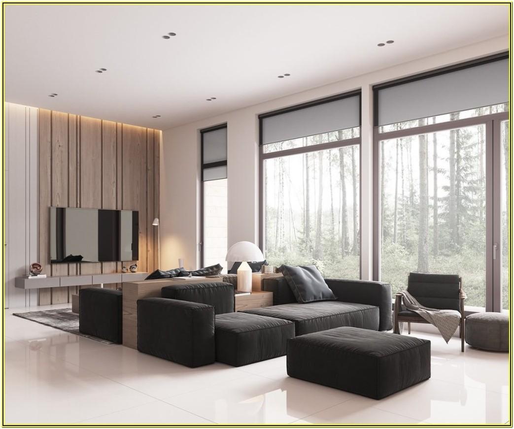 Minimalist Contemporary Interior Design Living Room