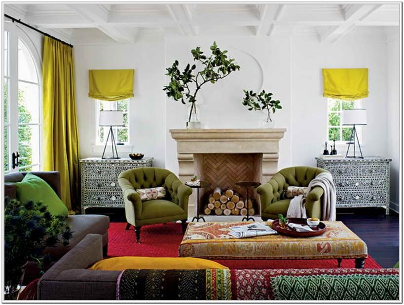 Mixing Furniture Styles Living Room