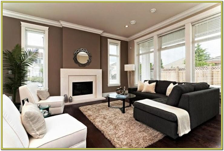Modern Accent Wall Living Room Paint Colors