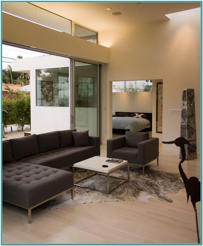 Modern Charcoal Sofa Living Room