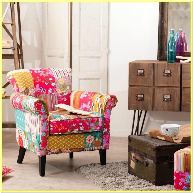 Modern Colorful Rug Living Room