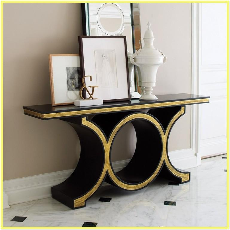 Modern Console Table Designs For Living Room