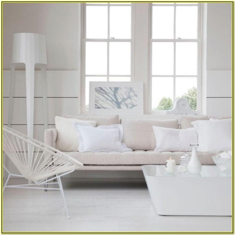 Modern Contemporary White Living Room