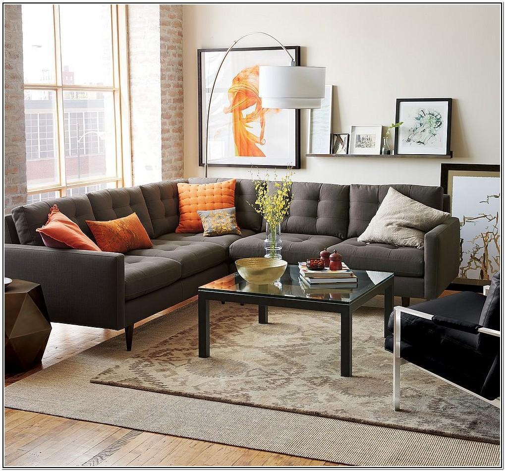 Modern Dark Grey Sofa Living Room Ideas