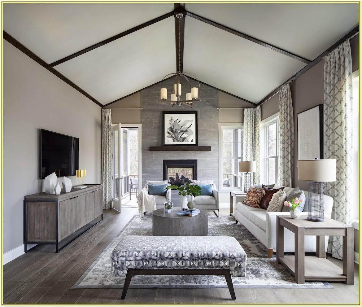 Modern Farmhouse Design Living Room