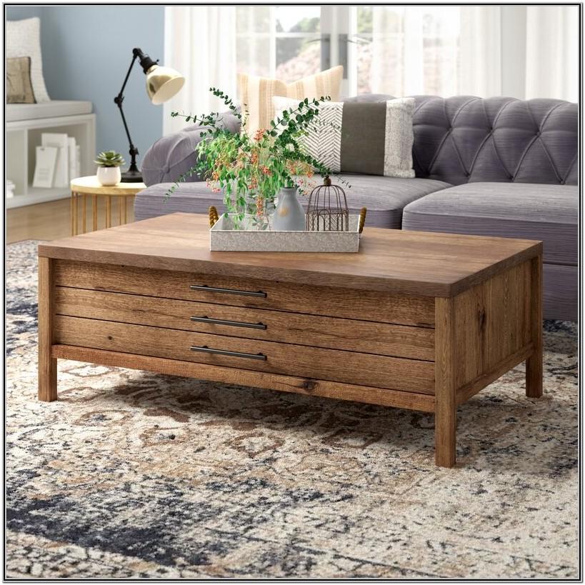 Modern Farmhouse Living Room Coffee Table