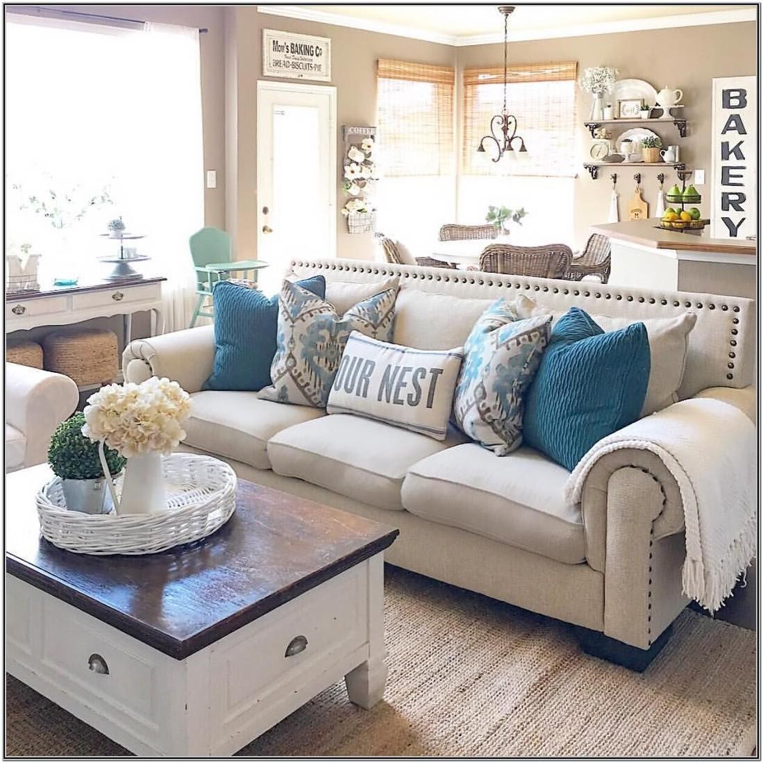 Modern Farmhouse Living Room Sectional