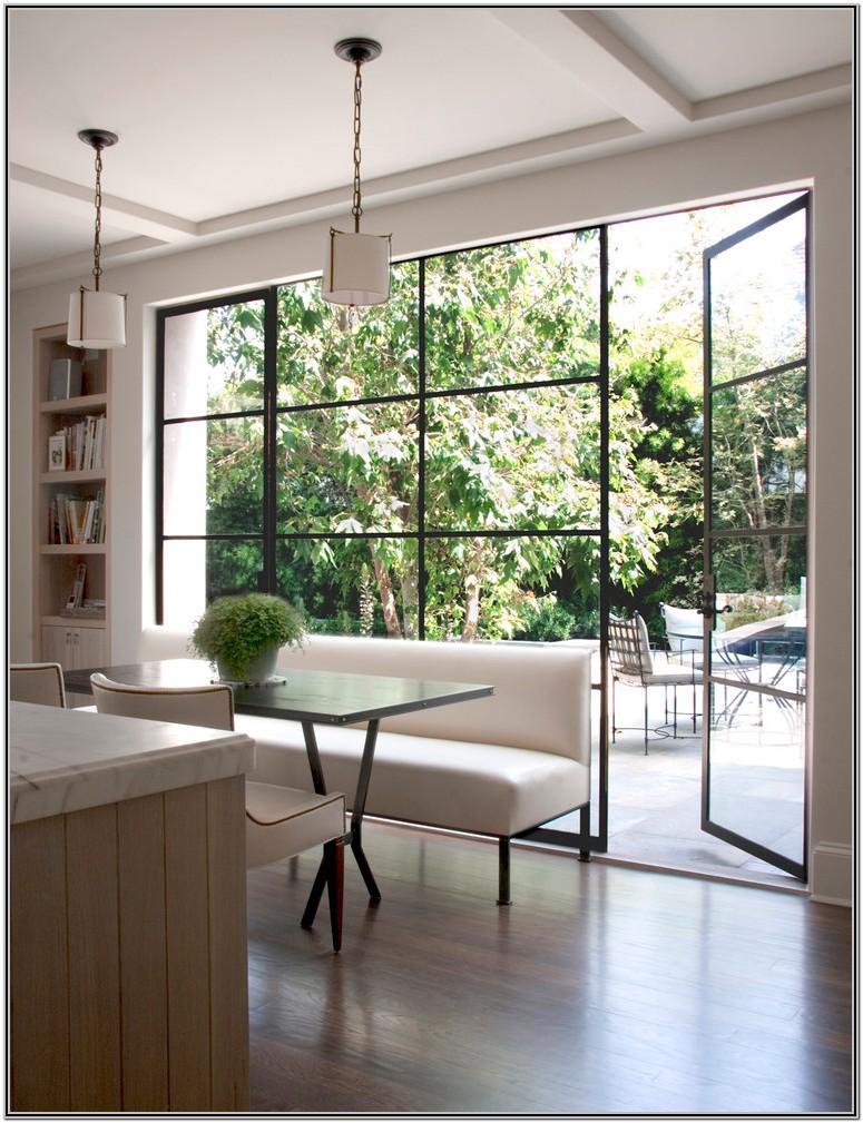Modern Floor To Ceiling Windows Living Room