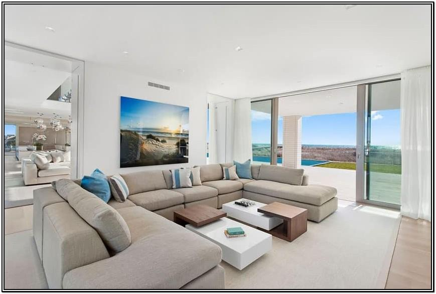 Modern Glass Living Room Doors