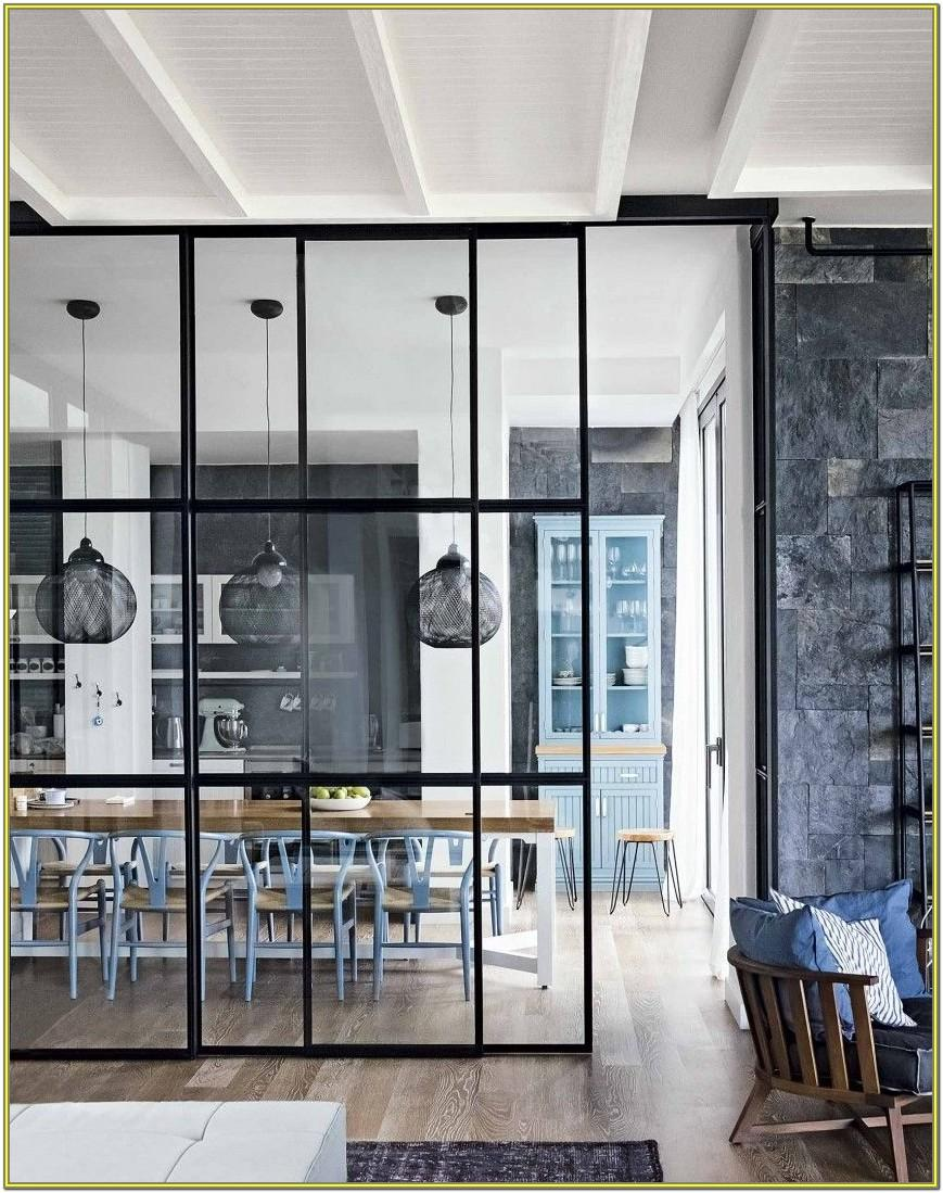 Modern Living Room And Dining Room Divider