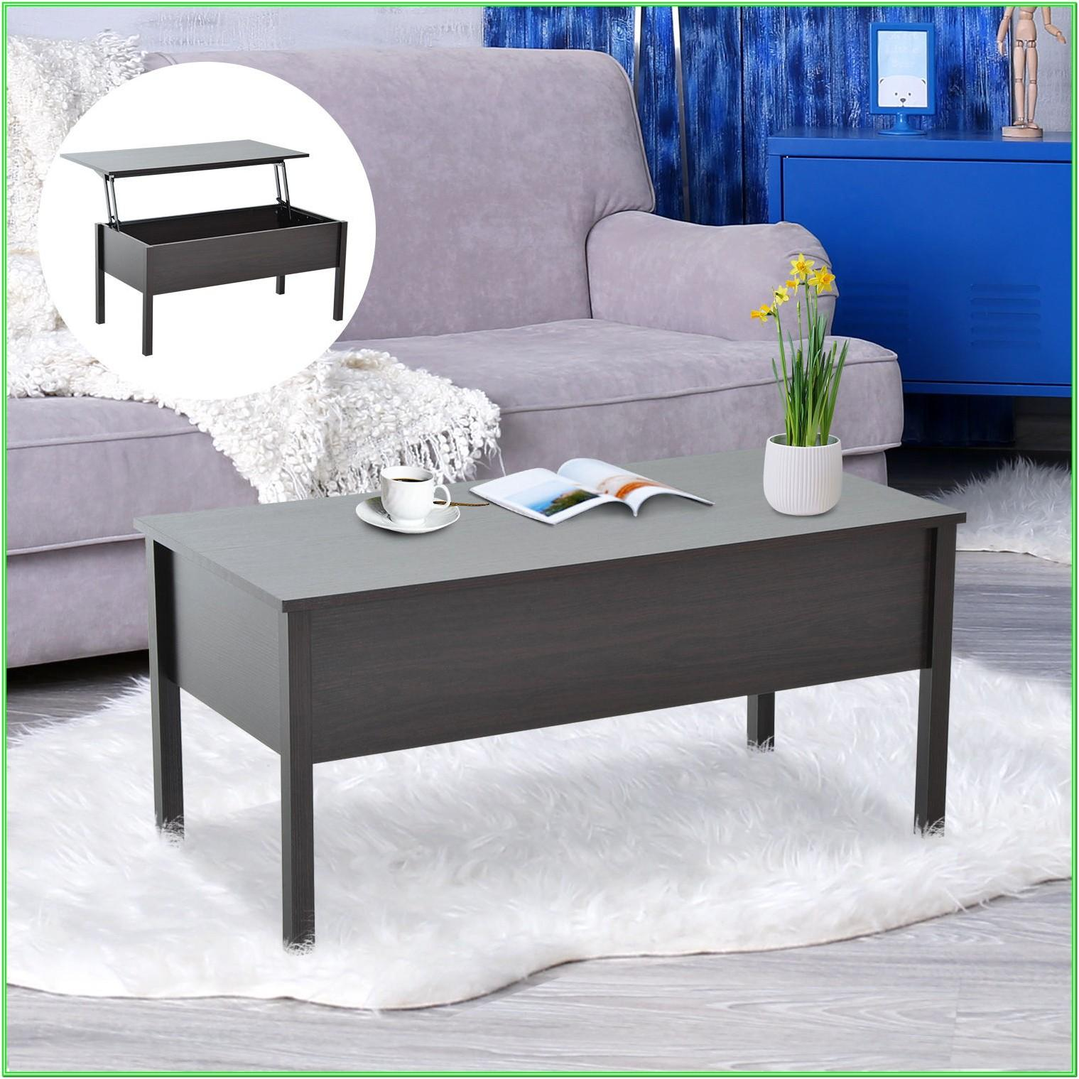 Modern Living Room Coffee Table With Storage