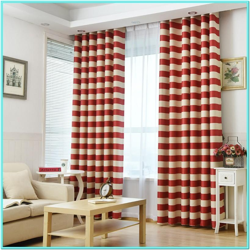 Modern Living Room Door Curtains