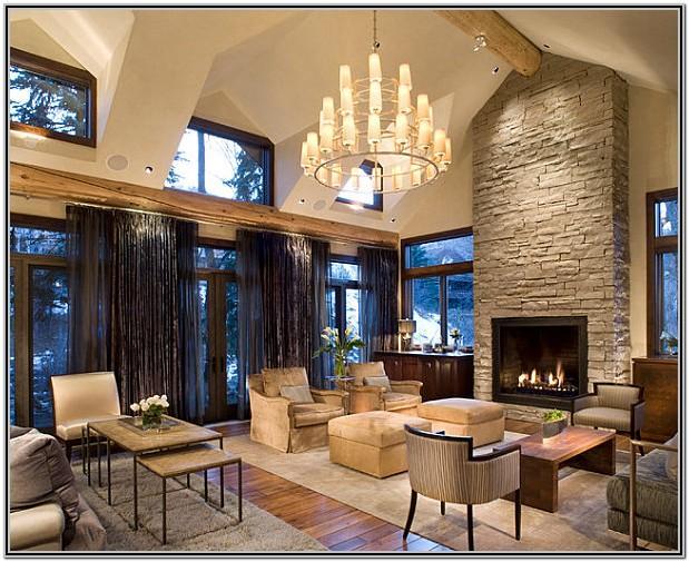 Modern Living Room Fireplace Decor