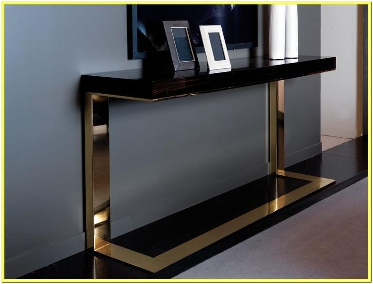 Modern Style Console Table Designs For Living Room