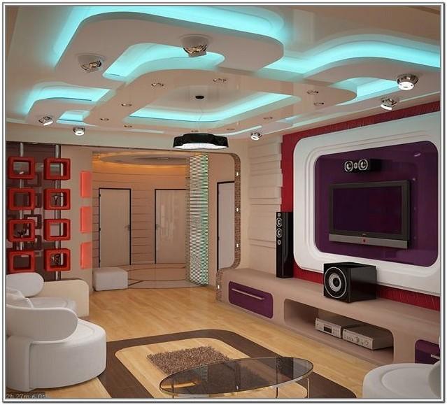 Most Popular Living Room Ceiling Design 2019