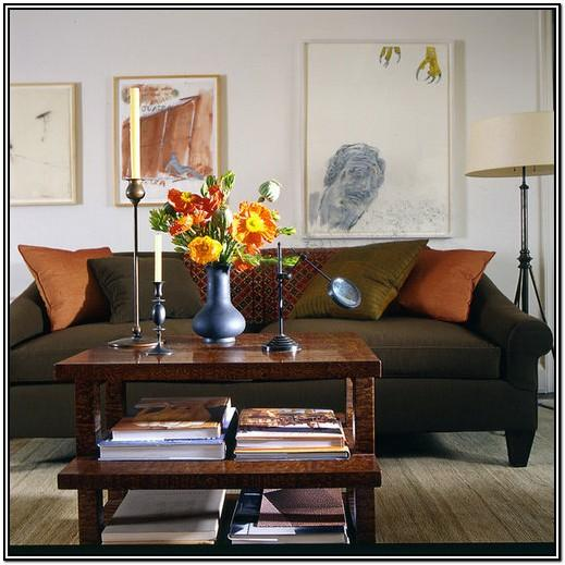 Olive Green Green Leather Sofa Living Room Ideas