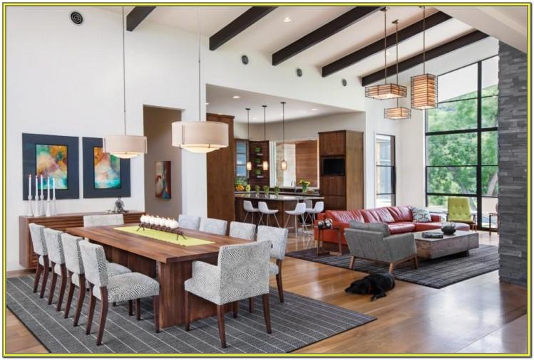 Open Concept Living Dining Room Combo Ideas