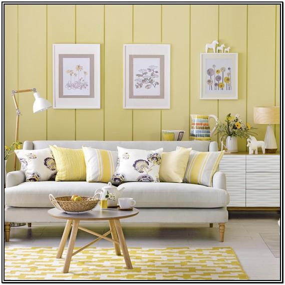 Pale Gold Paint Living Room