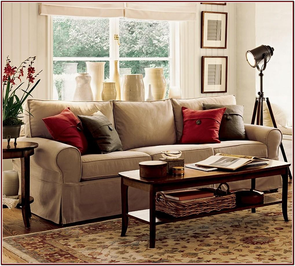 Red Leather Sectional Living Room Ideas