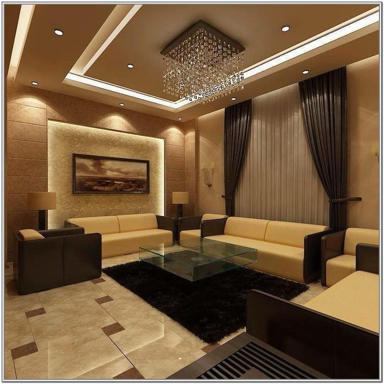 Romantic Living Room Ceiling Design 2019