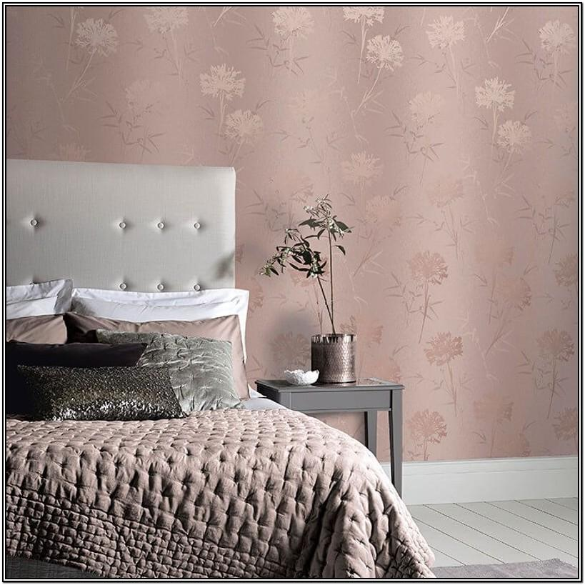 Rose Gold Paint Living Room