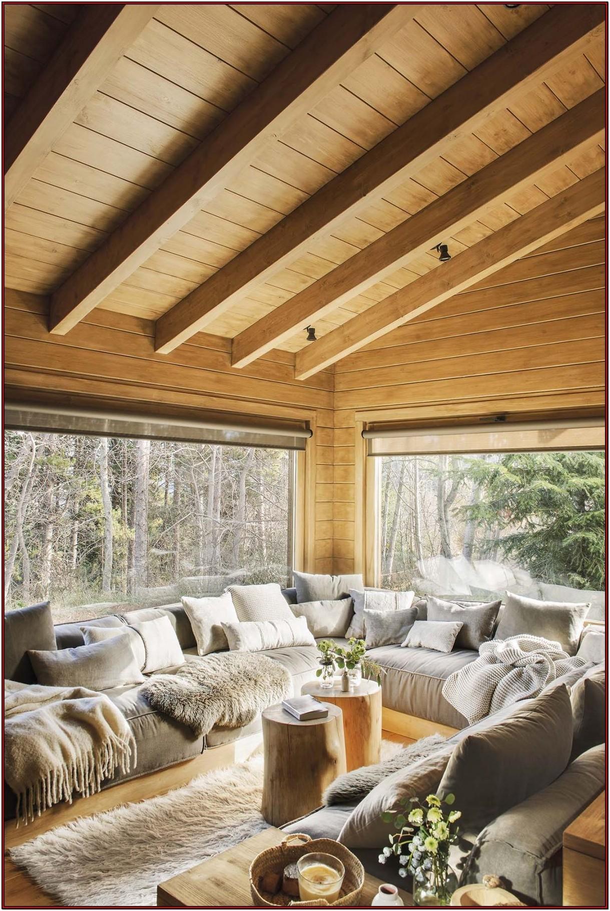 Rustic Cabin Living Room Decor