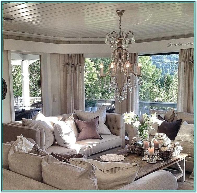 Rustic Chic Living Room Furniture