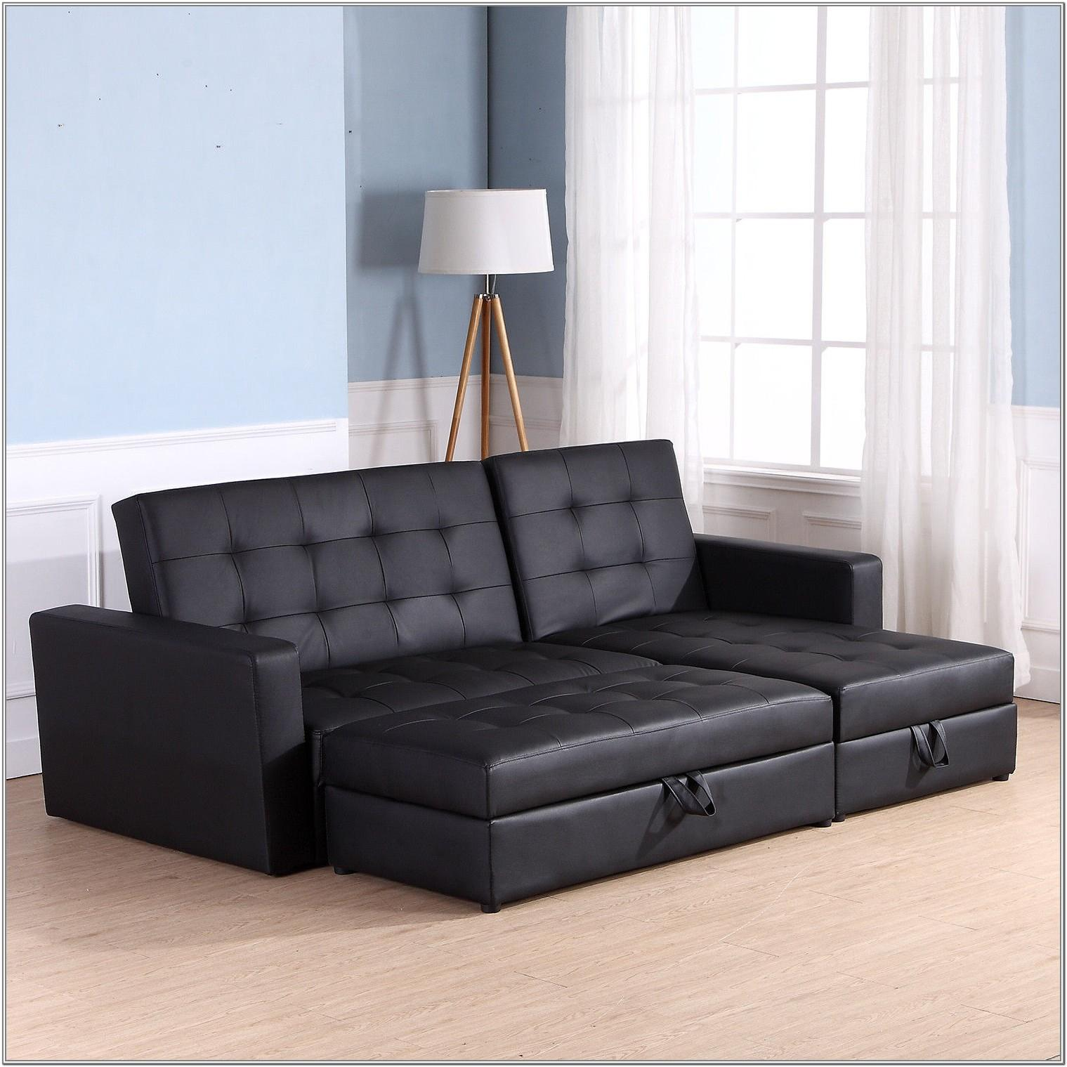 Sectional Living Room Couch Bed