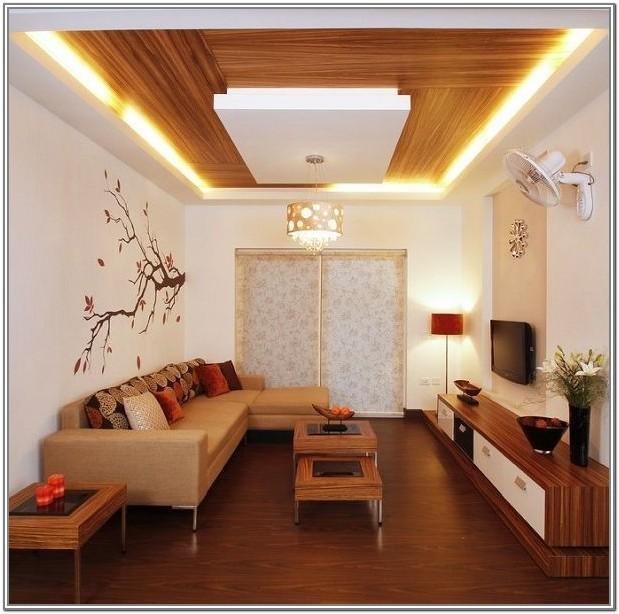 Simple Living Room Ceiling Design 2019