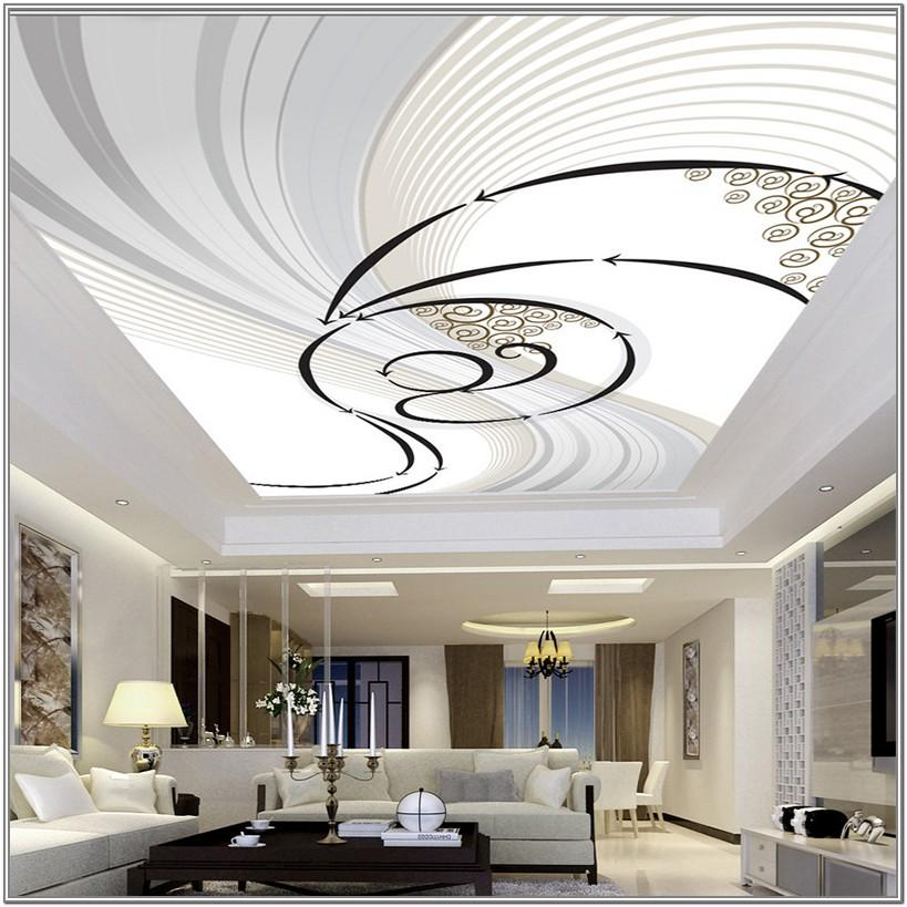 Simple Living Room Ceiling Design Ideas
