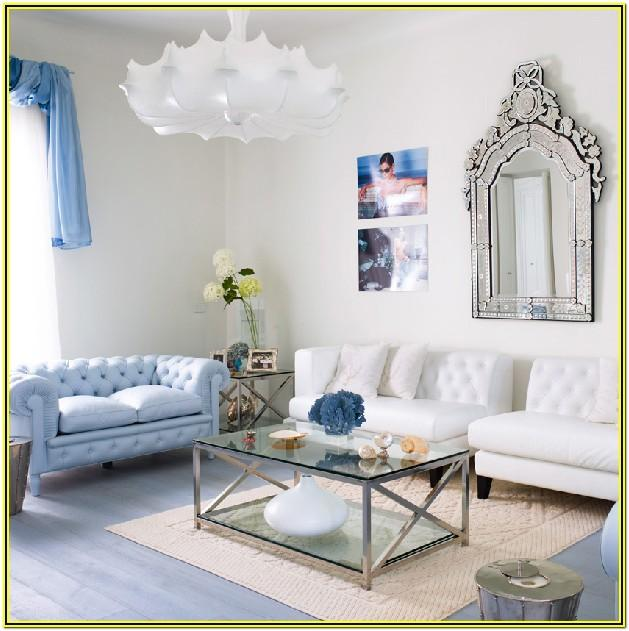 Small Contemporary White Living Room
