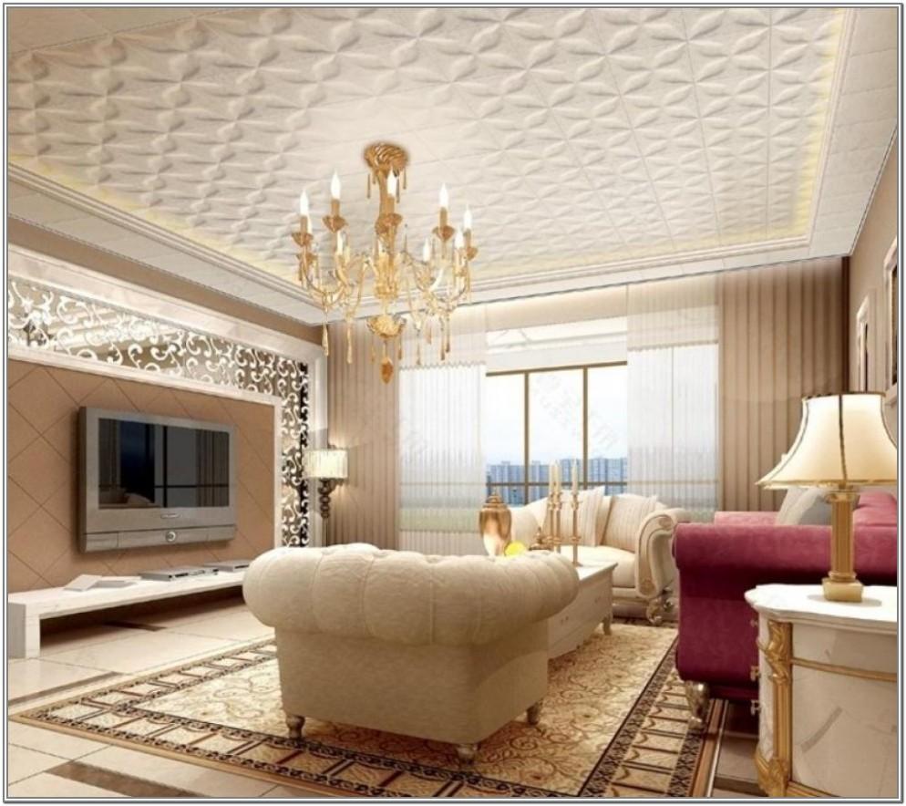 Small Living Room Ceiling Design Ideas