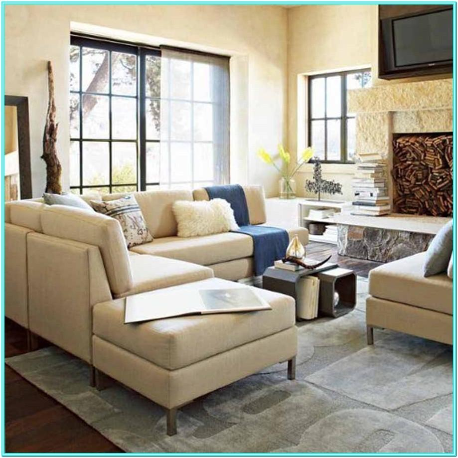Small Living Room Design With Sectional