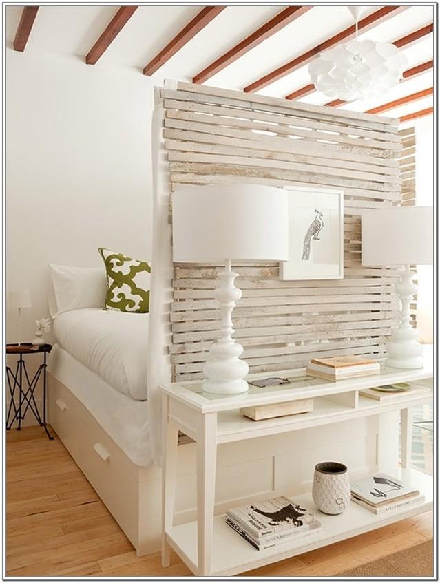 Studio Apartment Bedroom Living Room Divider
