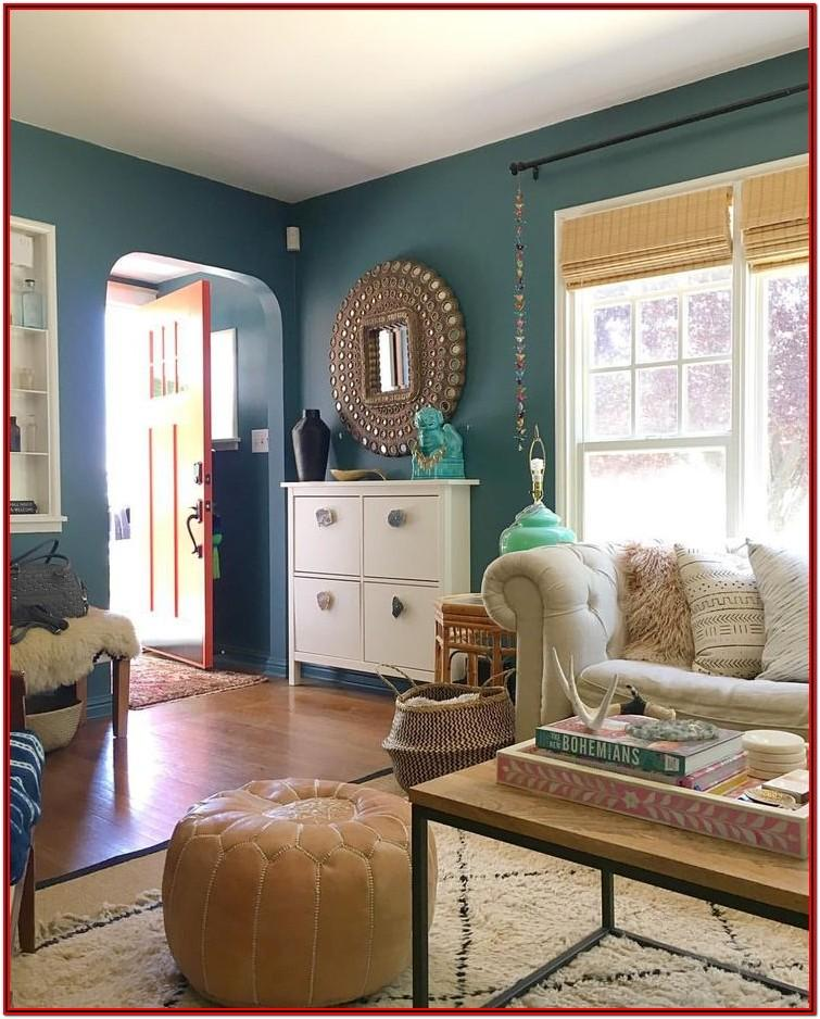 Teal Crown Paint Colours For Living Room