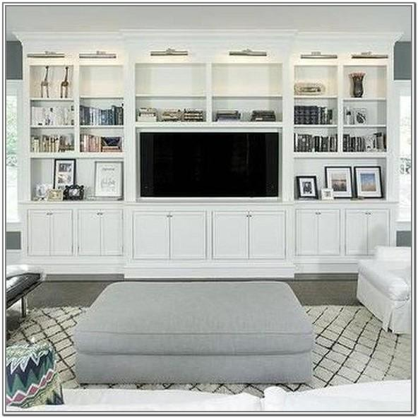 Television Living Room Bookshelves And Cabinets