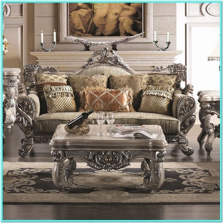 Traditional Elegant Living Room Furniture