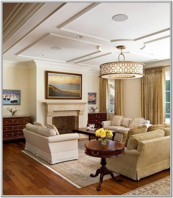 Unique Living Room Ceiling Design Ideas