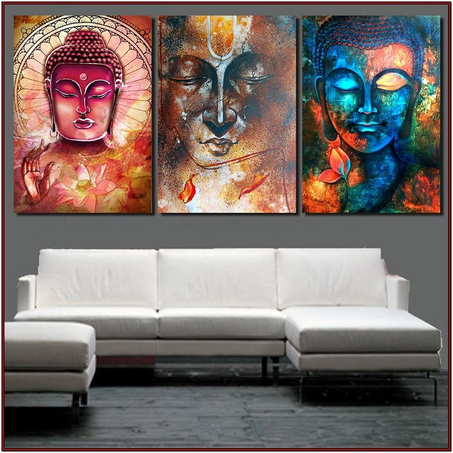 Wall Buddha Paintings For Living Room