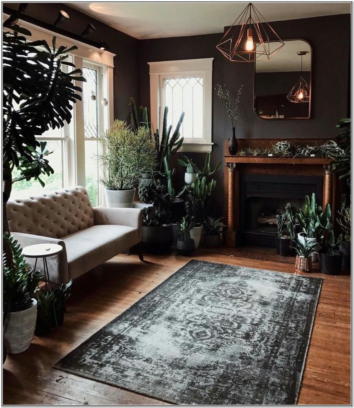 Warm Dark Living Room Colors