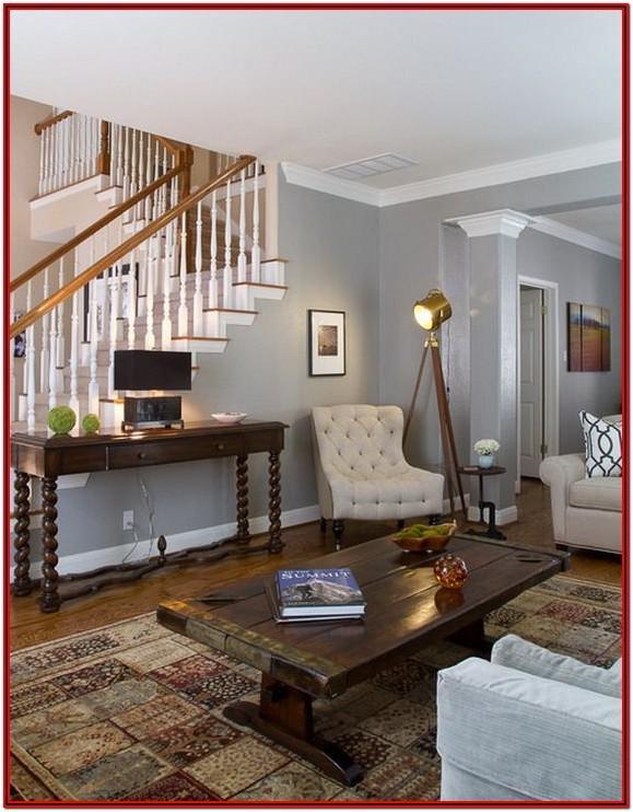 Warm Grey Grey Wall Paint Living Room